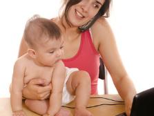 Mamás trabajadoras: Una labor doble