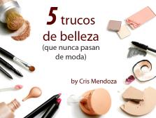 5 tips de belleza que no pasan de moda