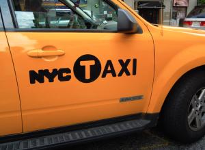 NY taxy by crislata