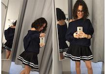 Minifalda después de los 40: yeiii o wak
