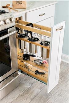 10 originales trucos para mantener ordenada una cocina pequeña